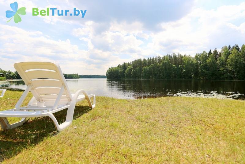 Отдых в Белоруссии Беларуси - база отдыха Золово - Пляж