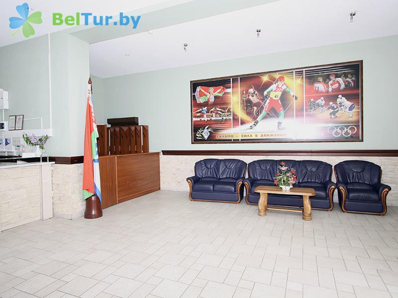 Отдых в Белоруссии Беларуси - гостиничный комплекс Динамо - Регистратура
