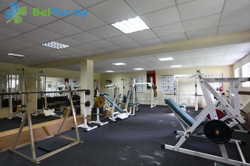 Отдых в Белоруссии Беларуси - гостиничный комплекс Динамо - Тренажерный зал