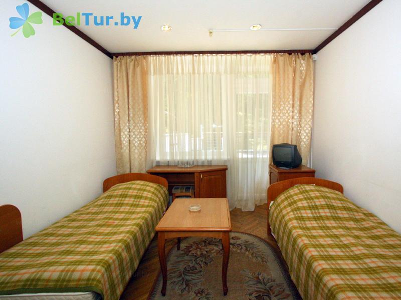 Отдых в Белоруссии Беларуси - гостиничный комплекс Динамо - двухместный однокомнатный (1 категория) (гостиница)