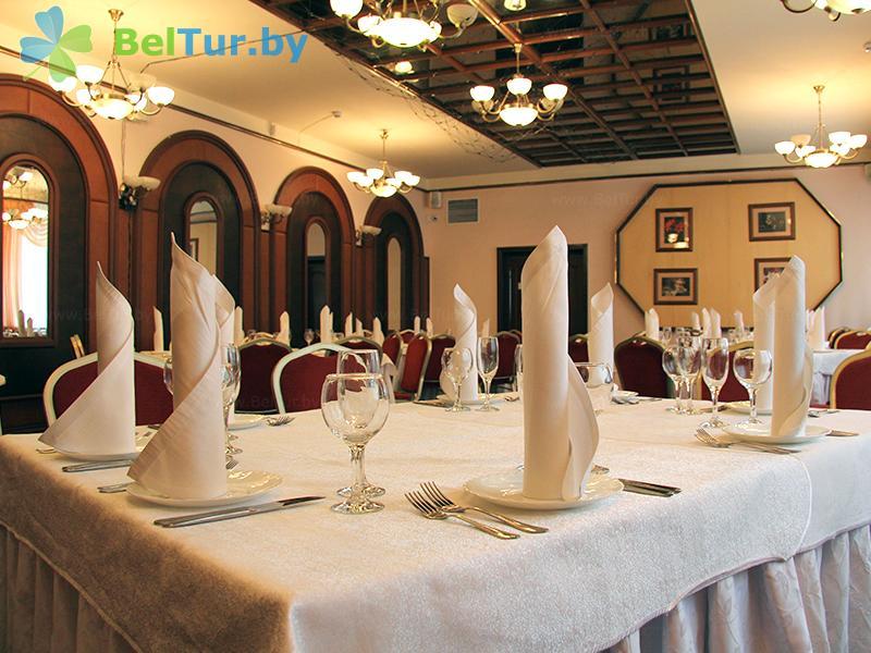 Отдых в Белоруссии Беларуси - гостиничный комплекс Динамо - Ресторан