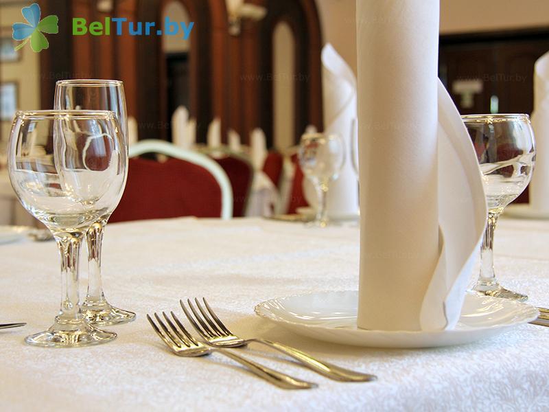 Отдых в Белоруссии Беларуси - гостиничный комплекс Динамо - Банкетный зал