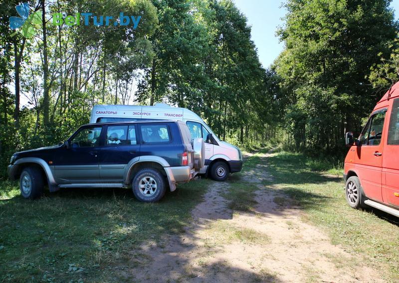 Адпачынак у Беларусі - гасцявы дом Бярэшчэ - Паркоўка