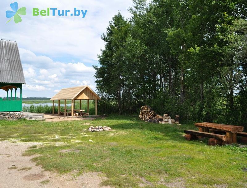 Отдых в Белоруссии Беларуси - гостевой дом Береще - Территория и природа