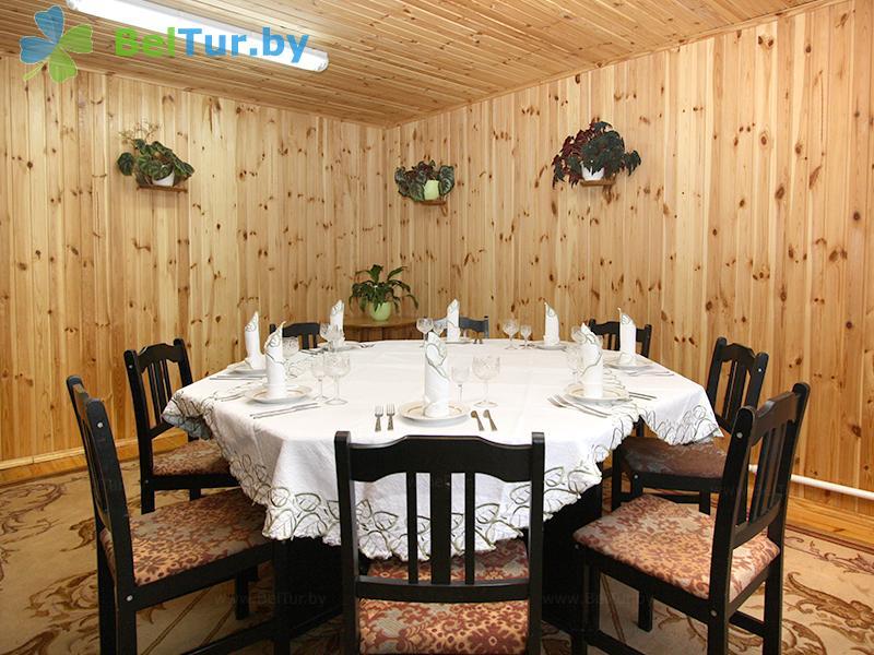 Отдых в Белоруссии Беларуси - туристический комплекс Хлупинская Буда - Столовая