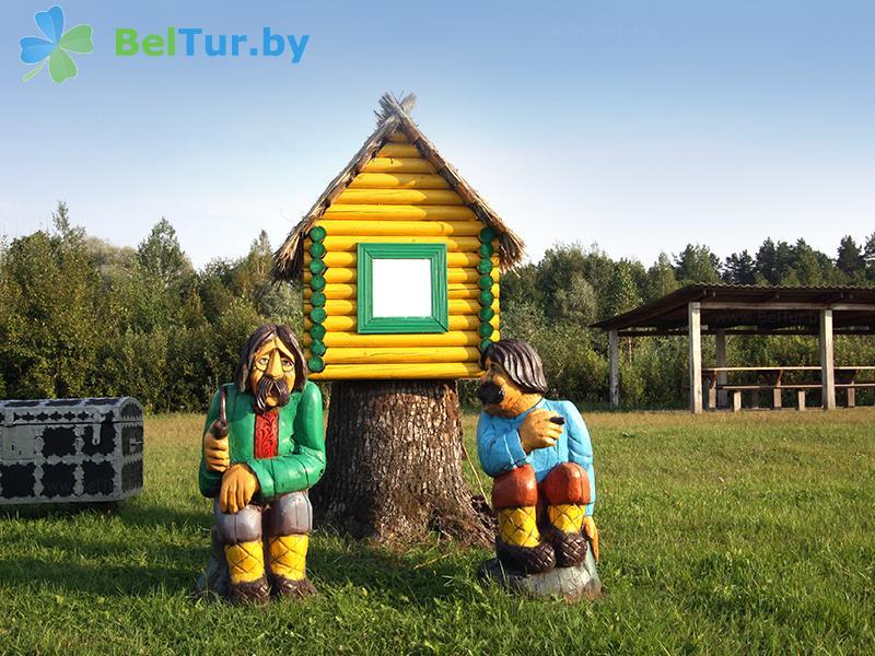 Отдых в Белоруссии Беларуси - туристический комплекс Хлупинская Буда - Территория и природа