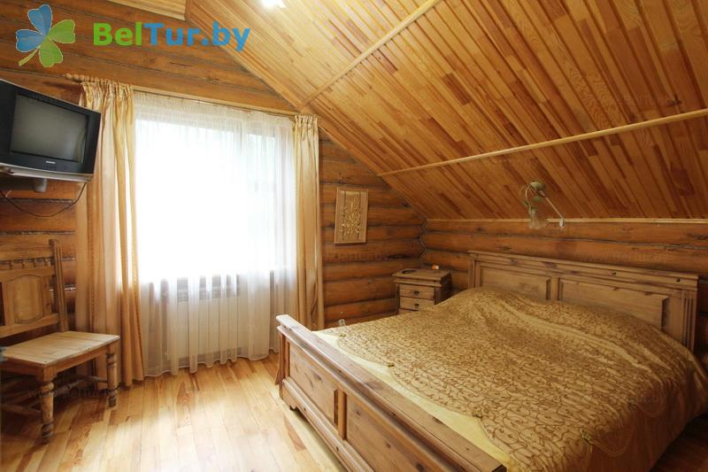 Отдых в Белоруссии Беларуси - пансионат ЛОДЭ - двухместный однокомнатный  в блоке (гостевой дом №14)