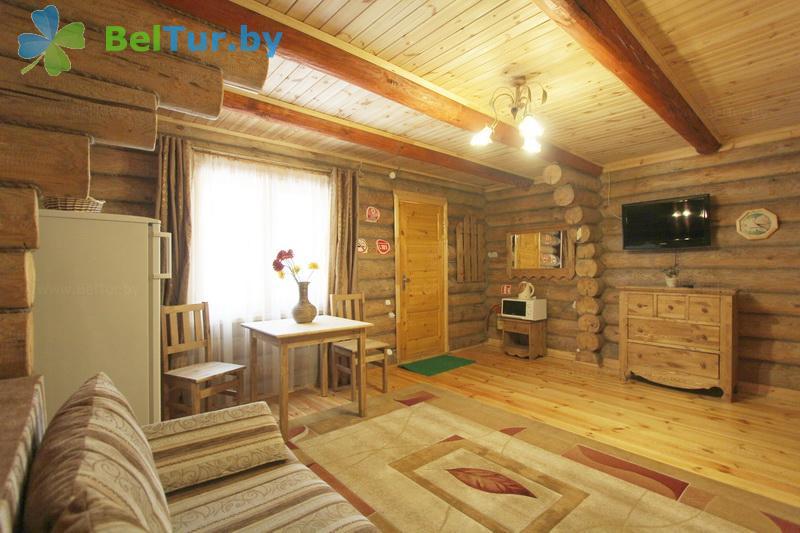 Отдых в Белоруссии Беларуси - пансионат ЛОДЭ - двухместный двухкомнатный полулюкс (гостевой дом №5-7,10,10А,11,13,15 (полулюкс))
