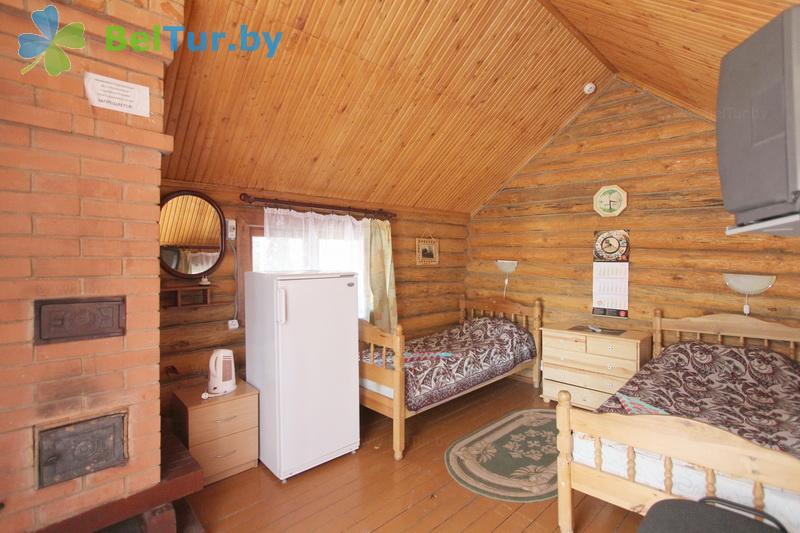 Отдых в Белоруссии Беларуси - пансионат ЛОДЭ - двухместный однокомнатный (гостевой дом №9 (эконом класс))
