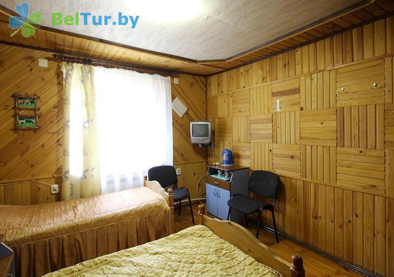 Отдых в Белоруссии Беларуси - пансионат ЛОДЭ - трехместный однокомнатный в блоке (гостевой дом №16)