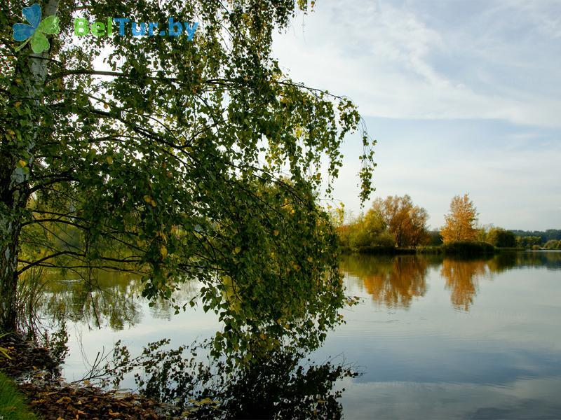 Отдых в Белоруссии Беларуси - пансионат ЛОДЭ - Водоём