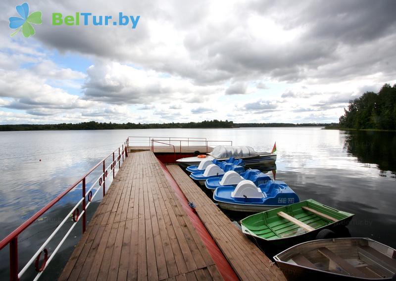 Отдых в Белоруссии Беларуси - пансионат ЛОДЭ - Прокат лодок