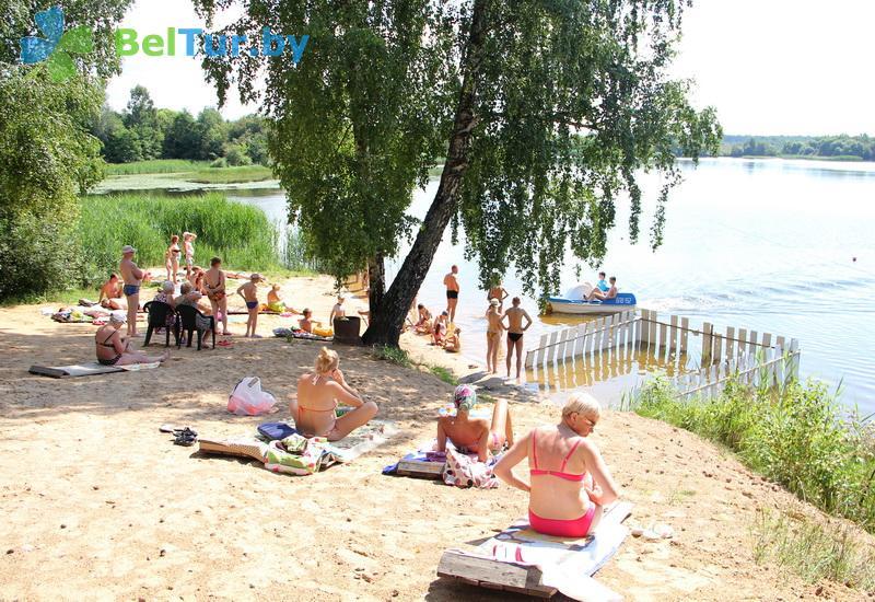 Отдых в Белоруссии Беларуси - пансионат ЛОДЭ - Пляж