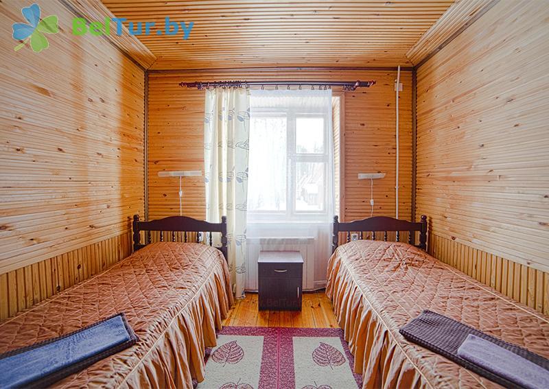 Отдых в Белоруссии Беларуси - пансионат ЛОДЭ - двухместный однокомнатный в блоке, 1 этаж (гостевой дом №1)