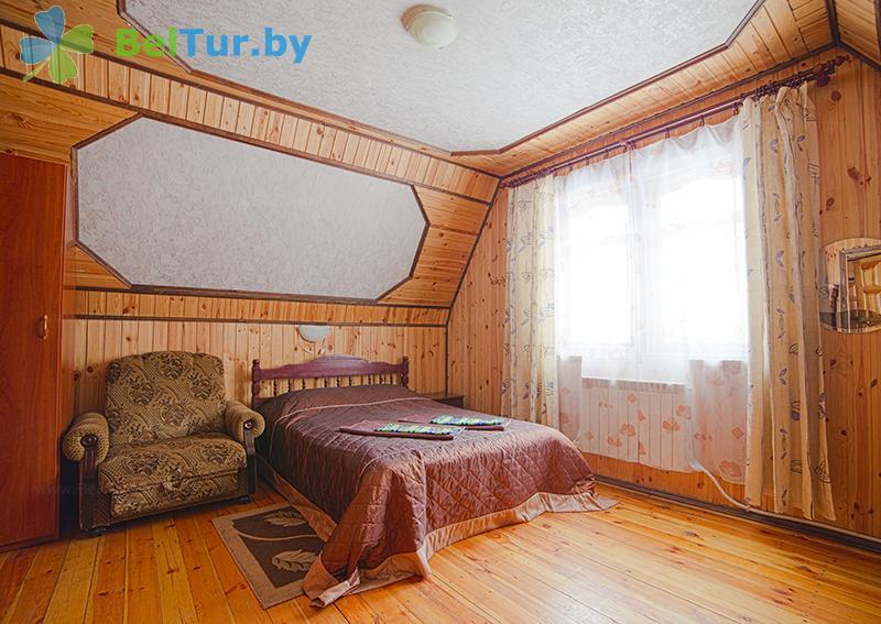 Отдых в Белоруссии Беларуси - пансионат ЛОДЭ - двухместный однокомнатный в блоке, 2 этаж (гостевой дом №1)