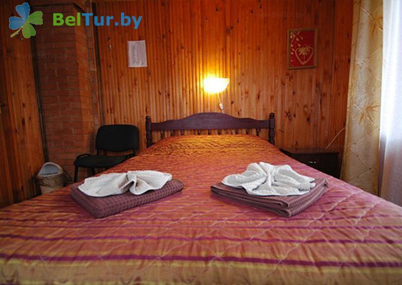 Отдых в Белоруссии Беларуси - пансионат ЛОДЭ - двухместный однокомнатный  в блоке (гостевой дом №2)