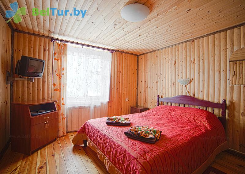 Отдых в Белоруссии Беларуси - пансионат ЛОДЭ - двухместный однокомнатный в блоке, 1 этаж (гостевой дом №3)