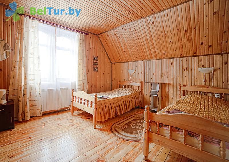 Отдых в Белоруссии Беларуси - пансионат ЛОДЭ - двухместный однокомнатный в блоке, 2 этаж (гостевой дом №3)