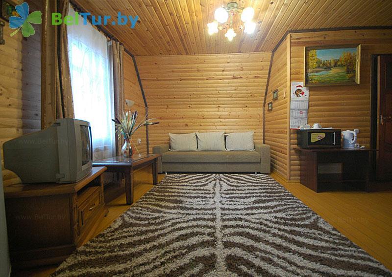 Отдых в Белоруссии Беларуси - пансионат ЛОДЭ - двухместный двухкомнатный полулюкс (гостевой дом №4)