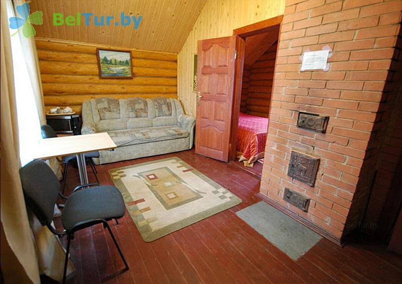Отдых в Белоруссии Беларуси - пансионат ЛОДЭ - двухместный двухкомнатный полулюкс (гостевой дом №8)