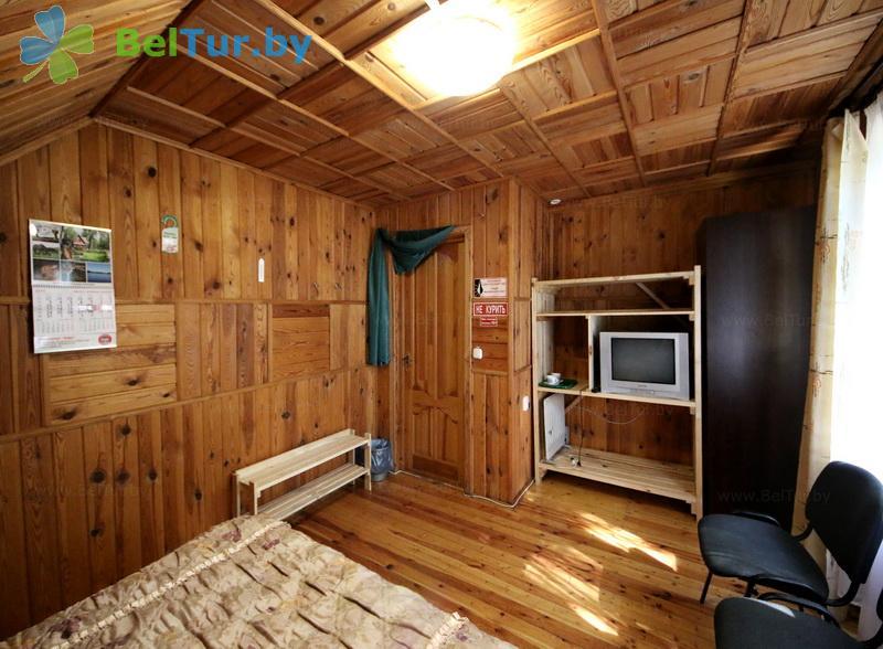 Отдых в Белоруссии Беларуси - пансионат ЛОДЭ - двухместный однокомнатный  в блоке (гостевой дом №16)