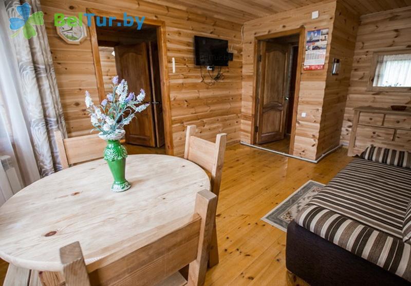 Отдых в Белоруссии Беларуси - пансионат ЛОДЭ - двухместный двухкомнатный люкс (гостевой дом №26-30 (люкс))