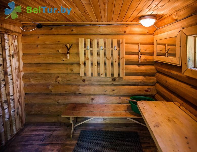 Отдых в Белоруссии Беларуси - пансионат ЛОДЭ - Баня русская