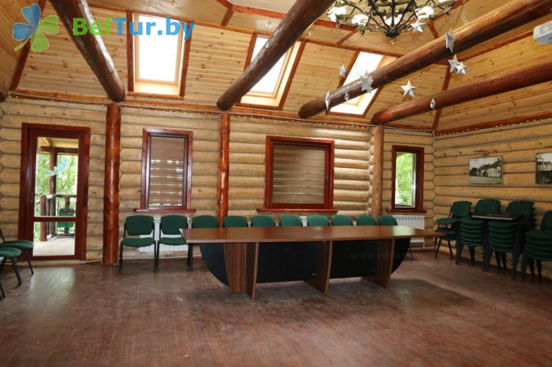 Отдых в Белоруссии Беларуси - пансионат ЛОДЭ - Конференц-зал