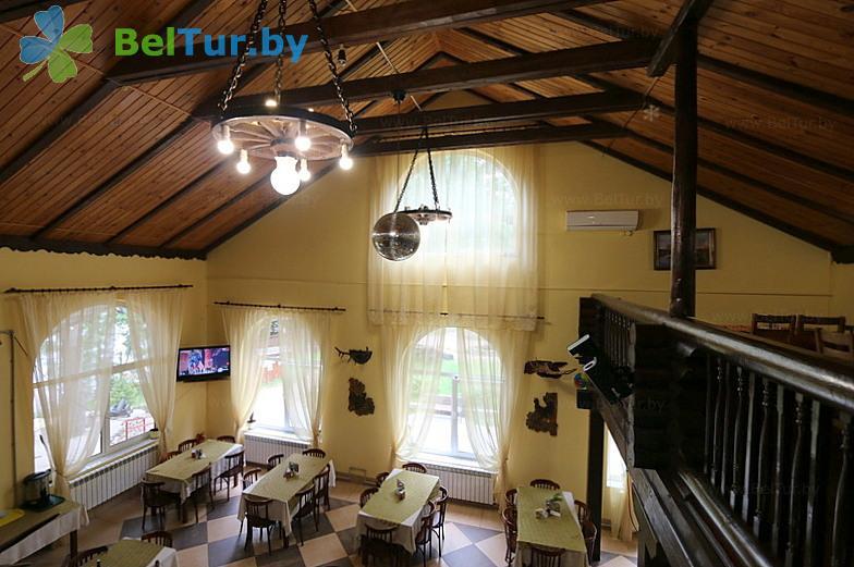 Отдых в Белоруссии Беларуси - пансионат ЛОДЭ - Кафе