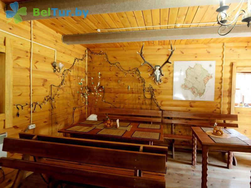 Отдых в Белоруссии Беларуси - дом охотника Переров - Кафе