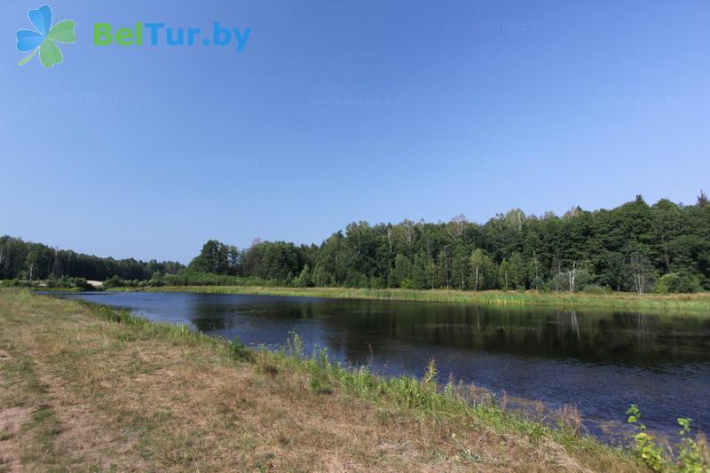 Отдых в Белоруссии Беларуси - гостиничный комплекс Каменюки - Водоём