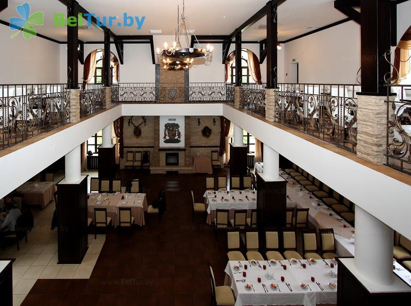 Отдых в Белоруссии Беларуси - гостиничный комплекс Каменюки - Ресторан