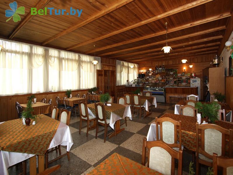 Отдых в Белоруссии Беларуси - гостиничный комплекс Каменюки - Кафе