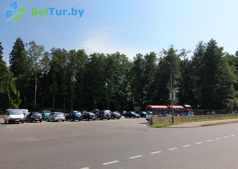 Отдых в Белоруссии Беларуси - гостиничный комплекс Каменюки - Парковка