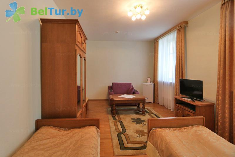Отдых в Белоруссии Беларуси - гостиничный комплекс Каменюки - двухместный однокомнатный twin / double (корпус №4)