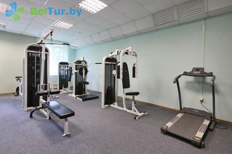 Отдых в Белоруссии Беларуси - гостиничный комплекс Каменюки - Тренажерный зал