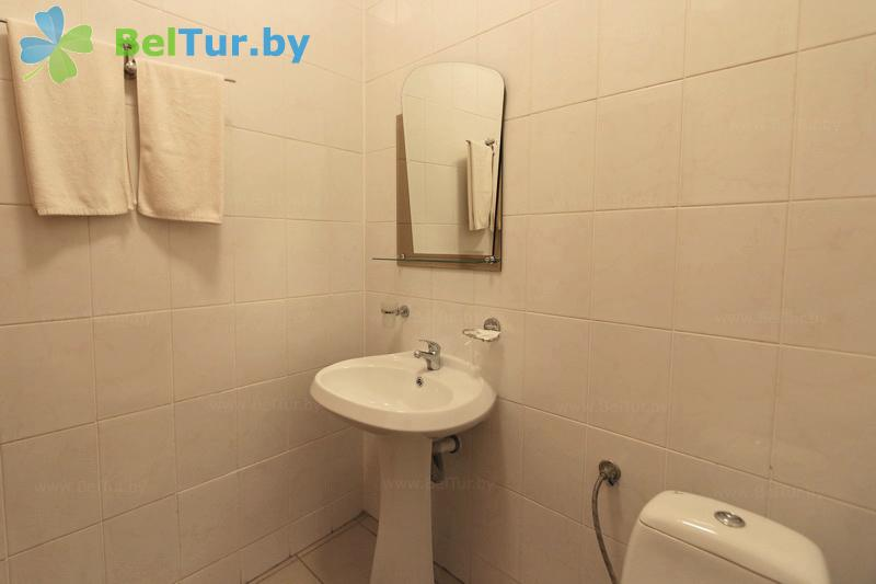 Rest in Belarus - hotel complex Kamenyuki - three-room double de luxe (building №4)