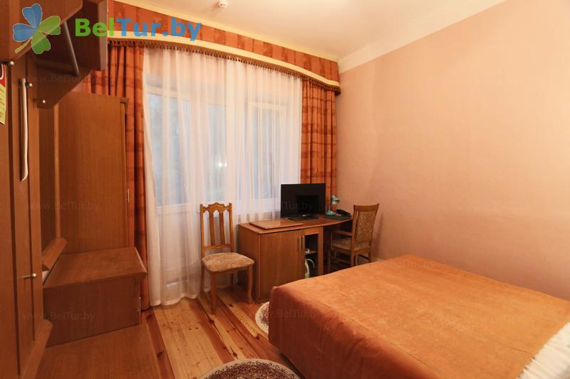 Отдых в Белоруссии Беларуси - гостиничный комплекс Каменюки - одноместный однокомнатный double (корпуса №1, 3)