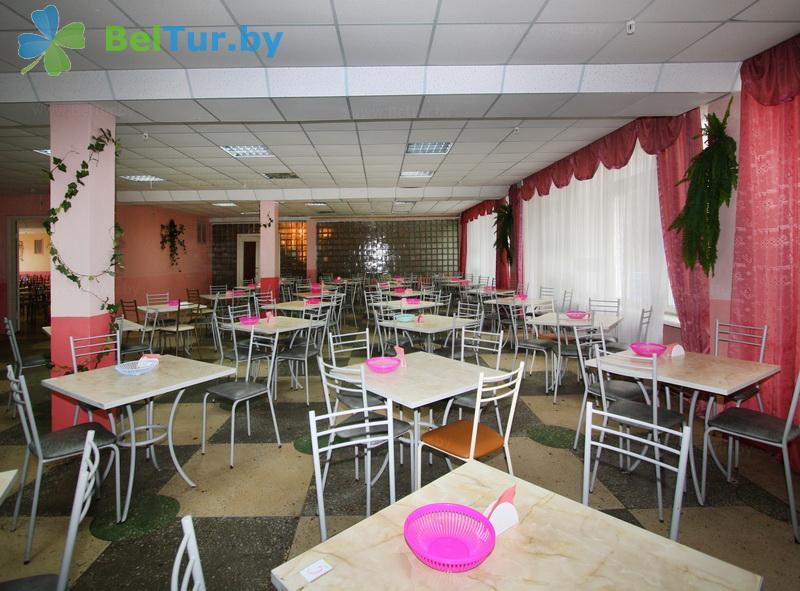 Отдых в Белоруссии Беларуси - детский оздоровительный лагерь Звездный - Столовая