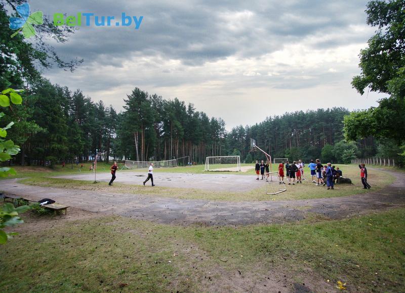 Отдых в Белоруссии Беларуси - детский оздоровительный лагерь Звездный - Спортплощадка