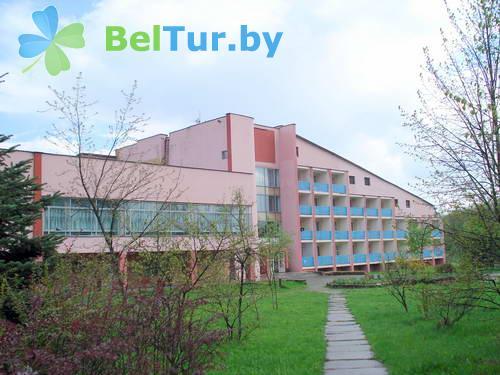 Rest in Belarus - health-improving camp for children Belye Rosy - administration and living building