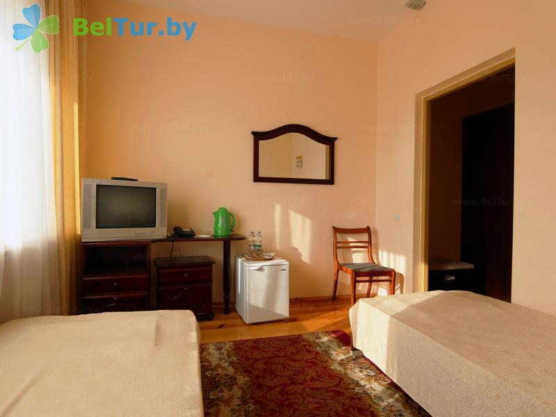 Отдых в Белоруссии Беларуси - гостиничный комплекс Каменюки, корпус №2 - двухместный однокомнатный / twin (гостиница №2)