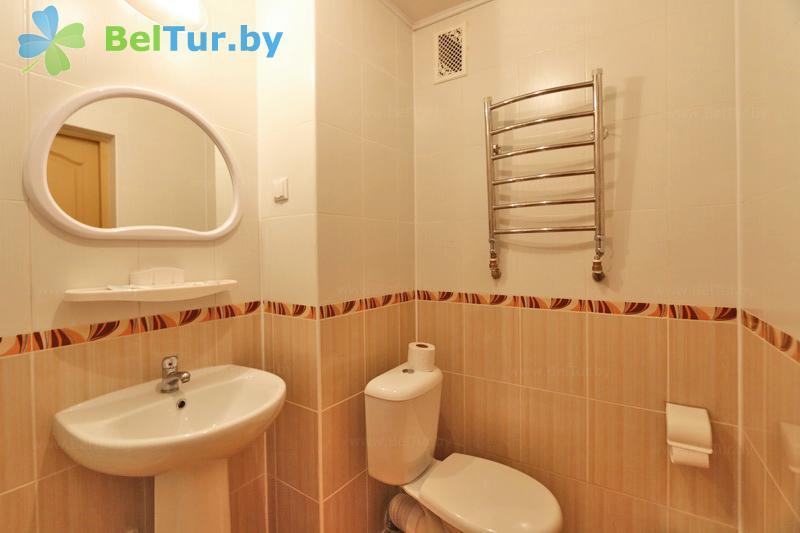 Отдых в Белоруссии Беларуси - гостиничный комплекс Каменюки, корпус №2 - двухместный однокомнатный double (гостиница №2)