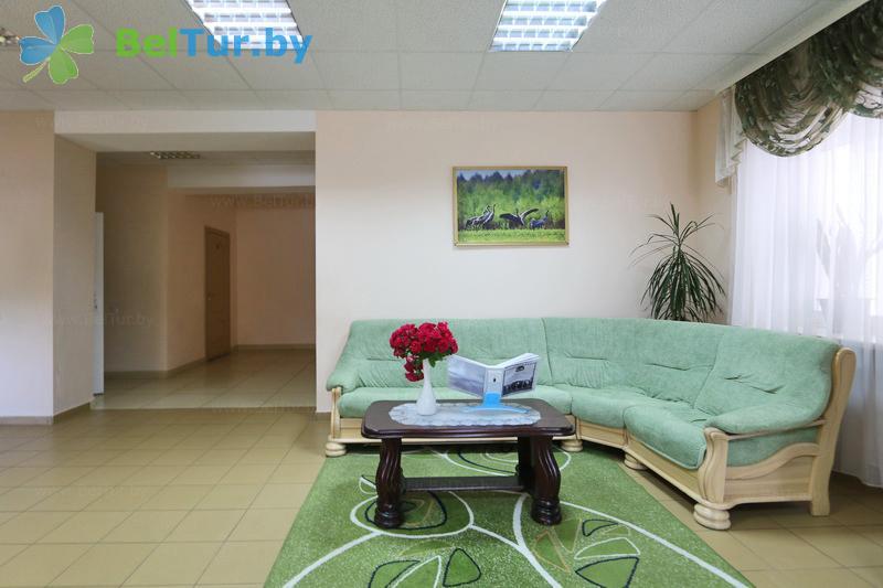 Отдых в Белоруссии Беларуси - гостиничный комплекс Каменюки, корпус №2 - Регистратура