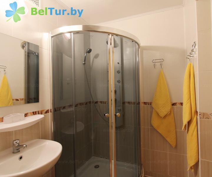 Отдых в Белоруссии Беларуси - гостиничный комплекс Каменюки, корпус №2 - одноместный двухкомнатный люкс (гостиница №2)