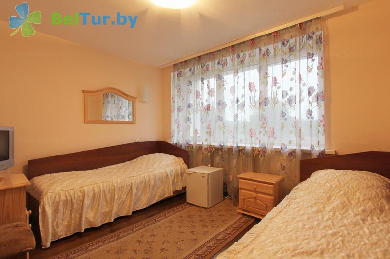 Rest in Belarus - hotel complex Kamenyuki k2 - one-room double / twin (hotel №2)