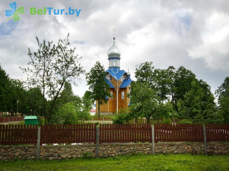 Отдых в Белоруссии Беларуси - гостиничный комплекс Каменюки, корпус №2 - Территория и природа