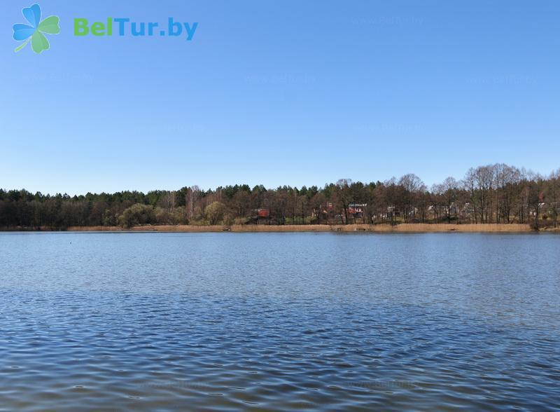Отдых в Белоруссии Беларуси - усадьба Три бобра - Водоём