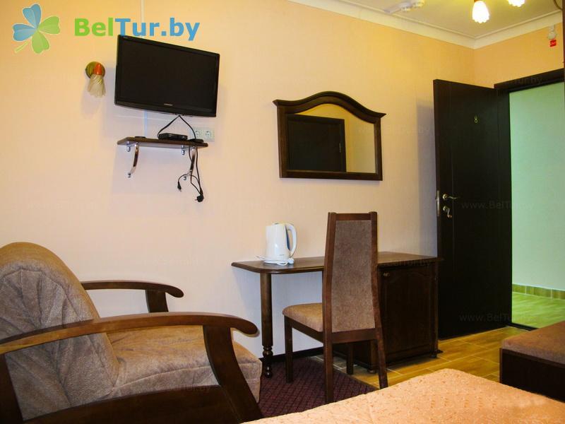 Отдых в Белоруссии Беларуси - туристический комплекс Белое - одноместный однокомнатный улучшенный (корпус №1)