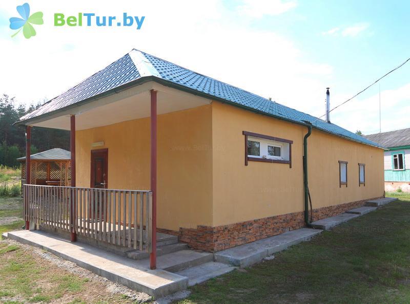 Отдых в Белоруссии Беларуси - туристический комплекс Белое - баня